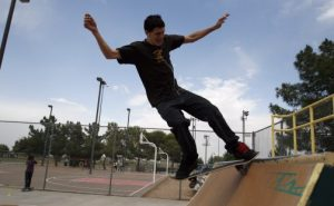Queen Creek's Skate Park Photo: East Valley Tribune