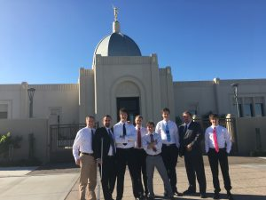 Third stop, Tucson Temple.