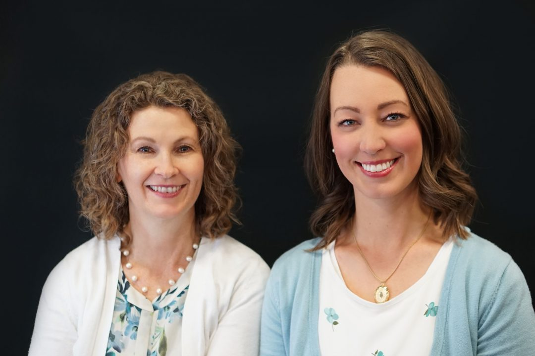 The mother/daughter team of Diana Elder (left) and Nicole Dyer (right) share their expertise and love for genealogical research on their blog, The Family Locket. Photo by Nicole Lister