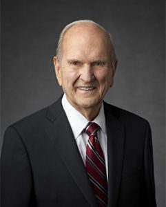 President Russell M. Nelson. Photo by LDS Media Library