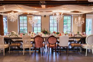 The Elliotts are committed to deliver a worry-free experience to all their clients, allowing them to fully enjoy their big day. Photo courtesy of the Elegant Barn.