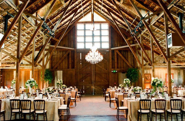 Rustic Nuptials: The Elegant Barn Takes The Worry Out Of Weddings