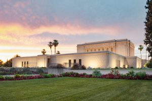 The Mesa Arizona temple (Photo courtesy of Jason Miller)