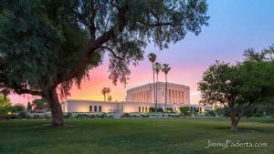 The Mesa Arizona temple (Photo credit: Jimmy Paderta)