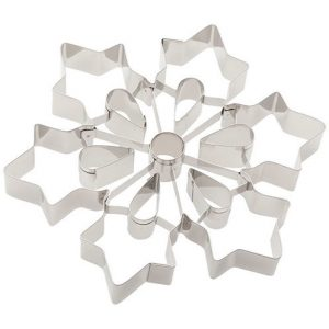 Snowflake Cookie Cutter from East Valley Cake Decorating Supply. Photo courtesy of www.evcds.com