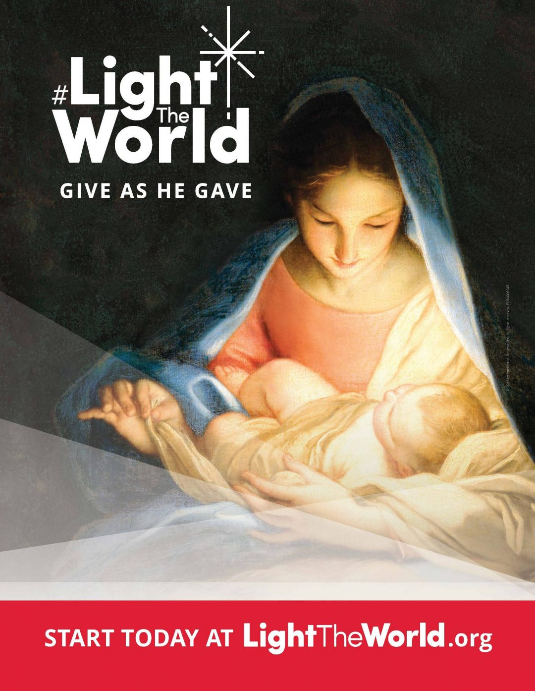 #LightTheWorld Christmas 2018