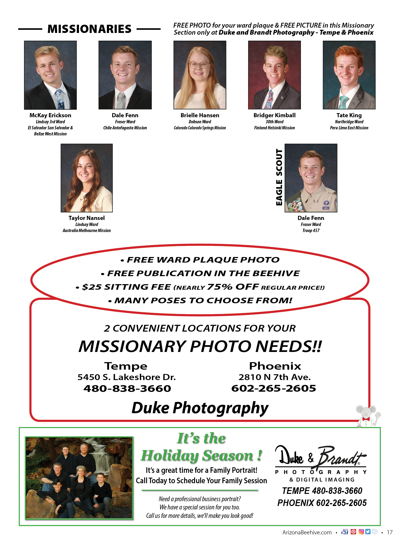 Dec 2018 Jan 2019 Missionary Page