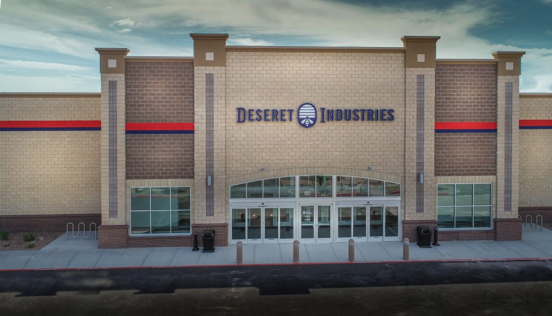 The brand-new Deseret Industries location in Gilbert.