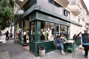 Tartine Bakery exterior in San Francisco. Photo by Carl Collins from Brooklyn, NY, USA [CC BY 2.0 (https://creativecommons.org/licenses/by/2.0)], via Wikimedia Commons