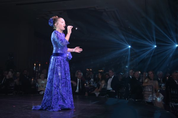 A Million Dreams: 11-Year-Old Rosevelt Sings With Dick Van Dyke At Childhelp's 60 Year Diamond Jubilee To Raise One Million Dollars For Abused Children
