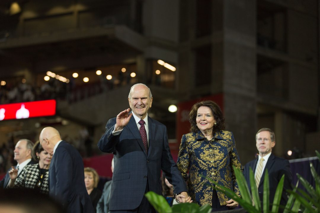President and Sister Nelson. Photo courtesy of The Church of Jesus Christ of Latter-day Saints