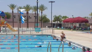 Swim lessons and other activities including open swim are offered at pools across the state for a great price. Photo by Emily Boyle