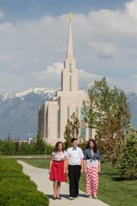 Increasingly, youth lead in submitting names for temple ordinances. Photo courtesy of lds.org Media Library